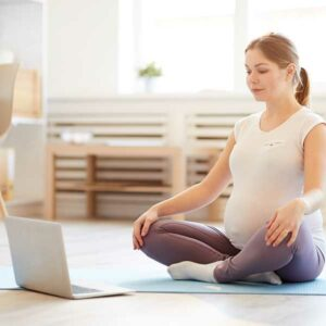 online yoga for pregnancy